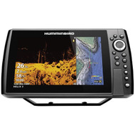Humminbird 410850-1 HELIX 9 CHIRP MEGA DI+ GPS G3N Fishfinder with Bluetooth & Ethernet