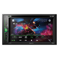 Pioneer AVH-220EX 6.2-Inch Double-DIN In-Dash Multimedia DVD Receiver with Bluetooth