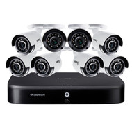 Lorex DK162-88CA 4K Ultra HD 16-Channel Security System with 2 TB DVR and Eight 4K Ultra HD Color Night Vision Bullet Cameras with Smart Home Voice Control