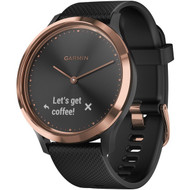 Garmin 010-01850-16 vivomove HR Sport (Rose Gold with Black)