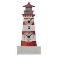Taylor Precision Products 92927T4 12-Inch Lighthouse Clock with Thermometer
