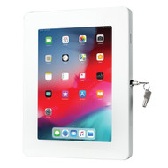 CTA Digital PAD-PARAWW Premium Locking Wall Mount for Tablets (White)