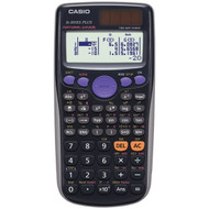 CASIO FX300ES Plus Fraction & Scientific Calculator (Black)