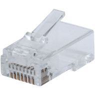 Intellinet Network Solutions 791090 FastCrimp CAT-6 RJ45 Modular Plugs (100-Pack)