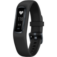 Garmin 010-01995-10 vivosmart 4 Activity Tracker (Black with Midnight Hardware, Small/Medium Wrists)