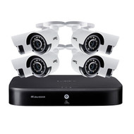 Lorex DK182-88CAE 4K Ultra HD 8-Channel Security System with 2 TB DVR and Eight 4K Ultra HD Color Night Vision Bullet Cameras with Smart Home Voice Control