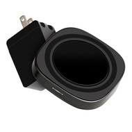 AT&T WC150-BLK 15-Watt Wireless Charging Pad with QC 3.0 Rapid Charger