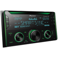 Pioneer FH-S720BS Double-DIN In-Dash CD Receiver with Bluetooth and SiriusXM Ready
