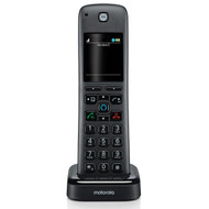 Motorola AXH Additional Handset for AX Series of Smart Cordless Phones and Answering Machines with Alexa Built-in