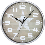 Timekeeper 668012S Star Wall Clock