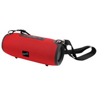 Supersonic SC-2325BT- Red Portable Bluetooth Speaker with True Wireless Technology (Red)