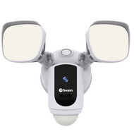 Swann SWWHD-FLOCAMW-US 1080p Outdoor Floodlight Wi-Fi Camera (White)
