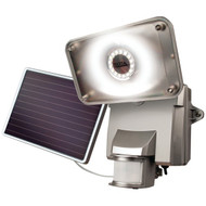 MAXSA Innovations 44640 Solar-Powered Motion-Activated Security Floodlight with 16 SMT LEDs