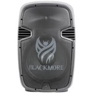 Blackmore Pro Audio BJC-15X2BT Amplified Professional PA System with Dual 15-Inch Monitors