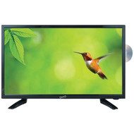 """Supersonic SC-1912 18.5"""" 720p LED TV/DVD Combination, AC/DC Compatible with RV/Boat"""