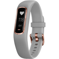 Garmin 010-01995-12 vivosmart 4 Activity Tracker (Gray with Rose Gold Hardware, Small/Medium Wrists)