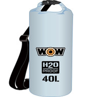 WOW Watersports H2O Proof Dry Bag - Clear 40 Liter [18-5100C]