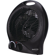 Brentwood Appliances H-F301BK Portable Electric Space Heater & Fan (Black)