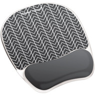Fellowes 9549901 Photo Gel Mouse Pad Wrist Rest with Microban