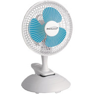 "brentwood__kool_zone F-621W 6"" Convertible Clip Desk Fan"