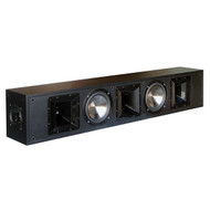 BIC America FH56-BAR Formula Series FH56-BAR Dual 6-1/2-Inch 625-Watt Patented Sound Bar with 5 Discrete Channels