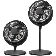 brentwood__kool_zone F-1221B 12-Inch 2-in-1 Air Circulator Stand Fan