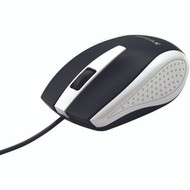 Verbatim 99740 Corded Notebook Optical Mouse (White)