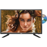 """Naxa NTD-2457A 24"""" LED TV & DVD/Media Player Combination with Car Package"""