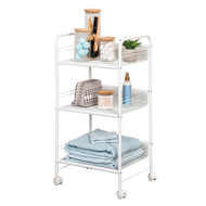 Honey-Can-Do CRT-08581 3-Shelf Rolling Wire Cart