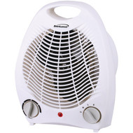 Brentwood Appliances H-F302W Portable Electric Space Heater & Fan (White)