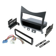 American International HONK823H Single-DIN or ISO with Pocket Relocation Kit with Harness for Honda Accord 2003 to 2007