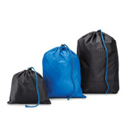 Conair TS80X Water-Resistant Drawstring Bags, 3 Pack