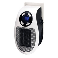 Optimus H-7801 Wall Outlet Plug-in Handy Heater with Thermostat and Timer
