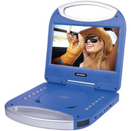 """SYLVANIA SDVD1052-BLUE 10"""" Portable DVD Player with Integrated Handle (Blue)"""