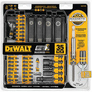 DEWALT DWA2T35IR FlexTorque 35-Piece Impact Ready Screwdriver Set with Case
