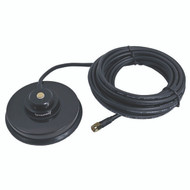 """Browning BR-1035-SMA Premium 3 5/8"""" Magnet NMO Mounting with Rubber Boot & SMA Male"""