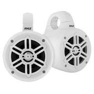 Pyle PLMRWB45W 4-Inch 300-Watt-Max Waterproof Marine Wakeboard Tower Speakers