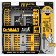 DEWALT DWA2T40IR FlexTorqu 40-Piece Impact Ready Screwdriver Set with Case