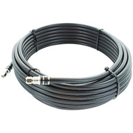 Wilson Electronics 951150 RG11 F-Male to F-Male Low-Loss Coaxial Cable (50ft)