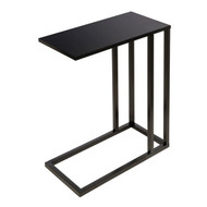 Honey-Can-Do TBL-08725 Black C End Table