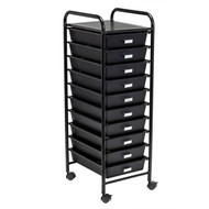 Honey-Can-Do CRT-08654 10-Drawer Rolling Storage and Office Cart