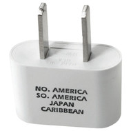 Travel Smart NW3X Adapter Plug for North and South America, Caribbean, and Japan
