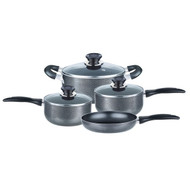 Brentwood Appliances BPS-207G 7-Piece Aluminum Non-Stick Cookware Set (Granite)