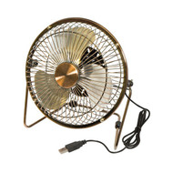 Honey-Can-Do OFC-04475 USB Powered Desk Fan (Bronze)