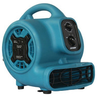 xpower_ P-230AT P-230AT 800 CFM 3-Speed Mini Air Mover/Floor Dryer/Utility Blower Fan with Timer and Power Outlets