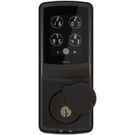 Lockly PGD 728 VB Secure Smart Deadbolt Door Lock with Touchscreen (Venetian Bronze)