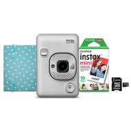 Fujifilm 600021182 instax Mini LiPlay (White)