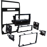 Metra 99-6519B Single-DIN/Double-DIN Installation Kit in Matte Black for 2005 through 2007 Dodge Charger/Magnum