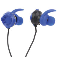 Lvlup LU701-BLU Gaming Earbuds with Removable Microphone (Blue)