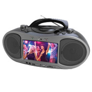 "7"" Bluetooth DVD Boombox"